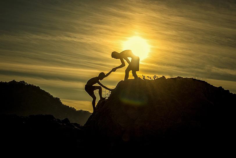 Experiencias de team building al aire libre - Montaña