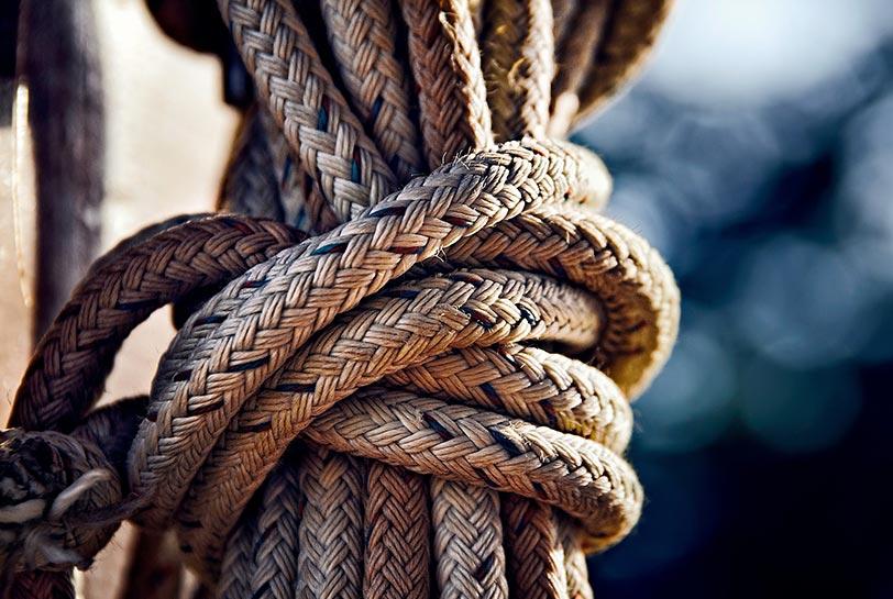 Experiencias de team building al aire libre - Nudo marinero