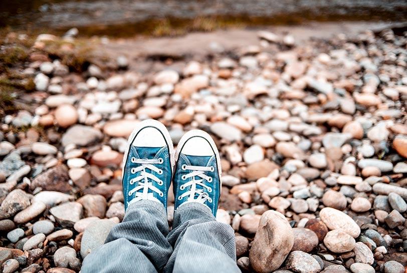 Cómo desconectar en vacaciones - Zapatillas